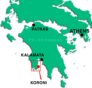 Messinia region in the Peloponnese on the mainland of Greece